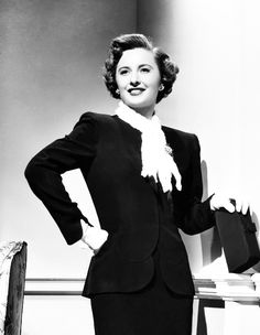 Barbara Stanwyck, 1940s/50s