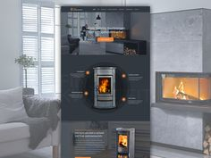 Fireplace Landingpage by Gil  for Innomedio