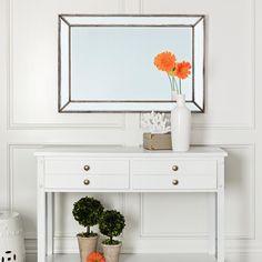 Abbyson 'Cosmo' Rectangular Wall Mirror