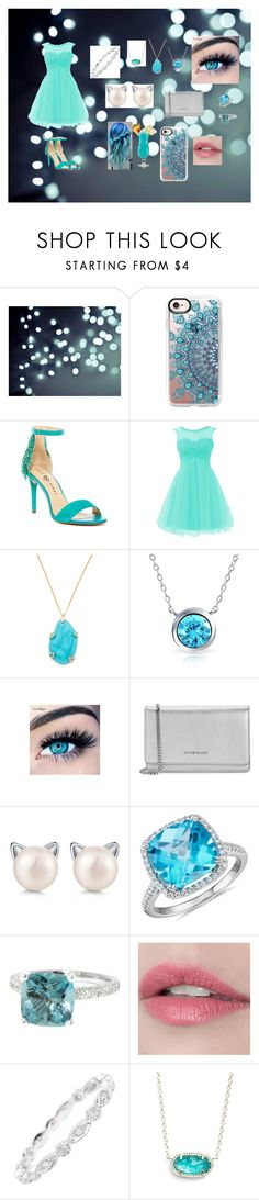 """Cocktail party for a contest"" by lonihellokitty ❤ liked on Polyvore featuring Casetify, Alexis Bittar, Bling Jewelry, MINX, Givenchy, Pearl, Blue Nile, Lizunova Fine Jewels, TIKI and Kendra Scott"