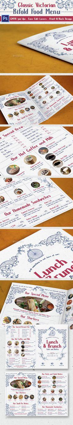 Restaurant Menu Menu templates, Restaurant menu template and Menu - a la carte menu template