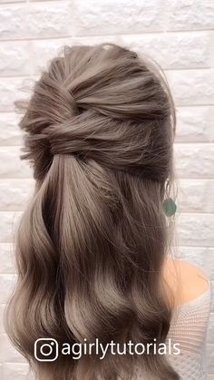 12 Tutorials Braid Hair You Can Do Yourself Part - decoratingstyle.- - 12 Tutorials Braid Hair You Can Do Yourself Part – decoratingstyle. Step By Step Hairstyles, Easy Hairstyles For Long Hair, Easy Ponytail Hairstyles, Hairstyles With Braids, Simple Hairstyles For Medium Hair, Hairstyles For Women, Hair Do For Medium Hair, Simple Wedding Hairstyles, Spring Hairstyles