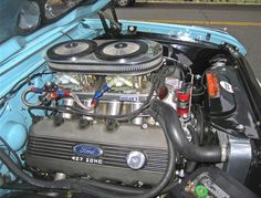 A F D E C Cc D on Ford 427 Windsor Stroker Engine