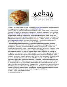 Mi piace molto il kebab Google drive 1E Alberghiero - Presentazione LIBERA - Community - Google+