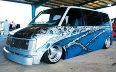 customized mini van -
