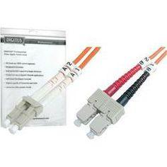 Glasfaser LWL Anschlusskabel [1x LC-Stecker - 1x SC-Stecker] 62,5/125µ Multimode OM1 1 m Digitus
