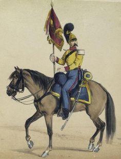 Caballería de Línea de Villaviciosa 1843