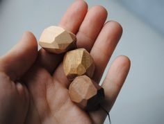 Wooden minimalistic necklace unique natural by WowodesignShop