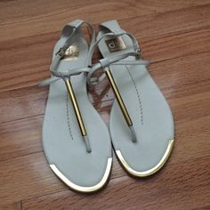 Gold Dv By Dolce Vita Womens Archer Sandal NEVER WORN Dolce Vita Shoes Sandals