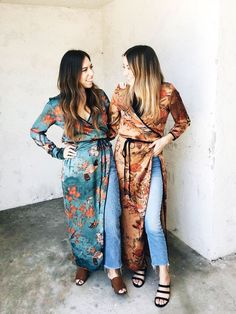 9 Ways to Wear Your Favourite (Probably Zara) Kimono Bold Fashion, Girl Fashion, Fashion Outfits, Fashion Ideas, Casual Outfits, Long Kimono, Kimono Top, Zara Trends, Kimono Duster