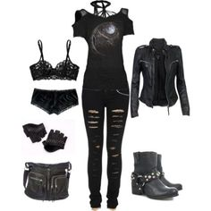 For all those individuals who enjoy dressing in gothic style fashion clothes and niknaks, it's important to try to seem as exclusive as possible. This means checking up on the newest fashion that is available. Happily, the ability to Cute Emo Outfits, Bad Girl Outfits, Punk Outfits, Gothic Outfits, Teen Fashion Outfits, Teenager Outfits, Mode Outfits, Grunge Outfits, Outfits For Teens
