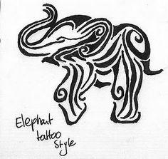 Super Ideas for tattoo elephant tribal ink Little Elephant Tattoos, Elephant Tattoo Design, Tribal Tattoo Designs, Elephant Design, Henna Designs, Trendy Tattoos, New Tattoos, Cool Tattoos, Tatoos