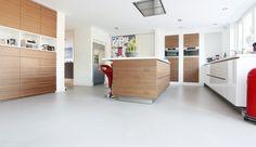 Keuken Gietvloer Witte : Witte gietvloer good witte design with witte gietvloer free