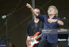 Roger Daltrey of The Who perform during the 2015 New Orleans Jazz & Heritage Festival at Fair Grounds Race Course on April 25, 2015 in New Orleans, Louisiana.