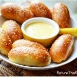 Game Day Snacks: Mini Sausage Stuffed Pretzel Bites