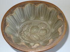 Salt Glaze Stoneware Antique Jelly Mould of Acorns | eBay