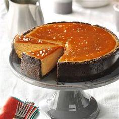 Salted Caramel Cappuccino Cheesecake Recipe