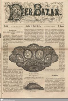 21 - Nr. 14. - Der Bazar - Seite - Digitale Sammlungen - Digitale Sammlungen