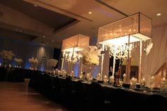 weddings florist washington dc - www.davinciflorist.us: bar mitzvah event with our flowers,lighting,drapings, table cloth,lounge and spandex chair covers.