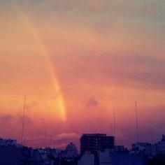 Pintando un arcoiris