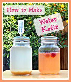 How to Make Water Kefir A Healthy Probiotic Beverage!