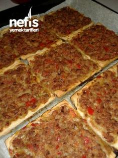 Discover the new ideas for recipes, home cooking and your kitchen. Turkish Recipes, Ethnic Recipes, Tasty, Yummy Food, Delicious Recipes, Kinds Of Salad, Bon Appetit, Lasagna, Salad Recipes