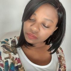 Pretty Bob wig Synthetic Other