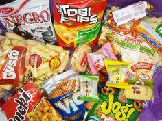 I would really like to try out the subscription box, Munchpak. It comes with 15 snacks from all around the world and they all seem delicious.