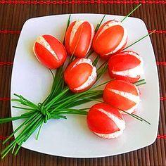 """Antipasto """"Tulipani di pomodoro"""""""