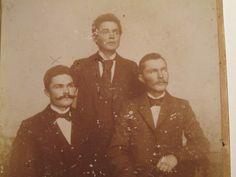 Mein Uropa Nolting mit Brüdern vor dem ersten Weltkrieg