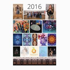 This year has been a whirlwind that's all I can say. I've gone places done things and created art that I couldn't have imagined this year would have held.  I'm proud to have been able to wrap 2016 and into January 2017 with my Efroymson Bridge Year Exhibition: Process. Thank you so much for the opportunity to present my works.  I'm also astounded at how many opportunities I've been granted to travel. Here is a breakdown of where I went this year:  List of Places Traveled This Year  February…