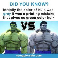 We like him green