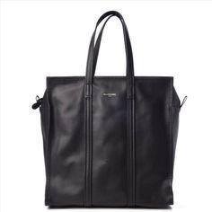 868b73b1818f Balenciaga Agnes Mediun Bazar Shopper Black Leather Tote. Get one of the  hottest styles of. Tradesy