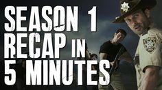 The Walking Dead: Season 1 in 5 minutes | Story Recap | Plot Summary