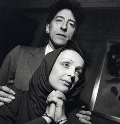 Jean Cocteau and Edith Piaf, 1940, photo by Serge Lido