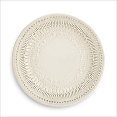 Arte Italica Finezza Cream Salad/Dessert Plate: Arte Italica Finezza Cream Salad/Dessert PlateThe Finezza Cream Salad/Dessert Plate adorns an intricate lace design on its border. This plate is perfect for entertaining and used for canapés, dessert and salads. Italian ceramic, Hand made in Italy.Dishwasher Safe.7