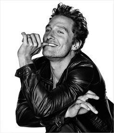 Mathew McConaughey (1969) - American actor. Photo by Eric Ray Davidson, for L'Optimum Magazine's December 2014/January 2015