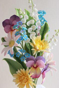 Gumpaste Spring Bouquet
