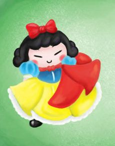 Pucca as Snow White
