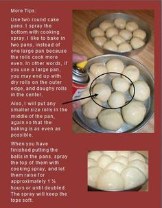 bread machine dinner rolls.  Johnny.  This is for you sweets!