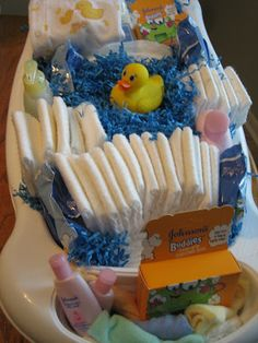 Seeking Delightful Pleasures: Rubber Ducky Baby Shower