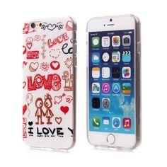 Coques / Protections iPhone 6 (4.7 pouces) - Coque de protection TPU I love pour iphone 6 - 4.7 pouces - nemtytab.com 1,99 EUR
