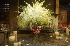 Stunning local orchids as a centerpiece or to decorate a guest book table. #HoiAnEventsWeddings #VietnamBeachWeddings
