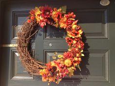Autumn DIY wreath