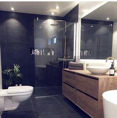 All About Unique Bathroom Remodel Bathroom Design Luxury, Modern Bathroom Decor, Simple Bathroom, Bad Inspiration, Bathroom Inspiration, Home Decor Inspiration, Master Bedroom Bathroom, Family Bathroom, Beautiful Bathrooms