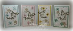 2015  VIDEO Butterfly Thank you card