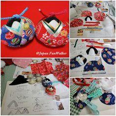 Use shells to make the Hinamatsuri ornamental dolls...fun! 貝で雛人形を作りました、面白かったです!