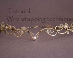 Wire Wrap Tutorial Earrings tutorial Wire work by StasyaWireWrap