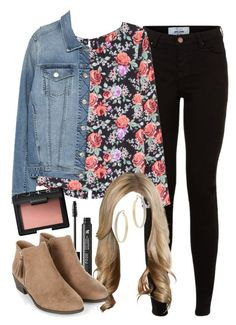 """""""Alison Dilaurentis inspired outfit"""" by liarsstyle ❤ liked on Polyvore featuring H&M, Zara, LashFood, NARS Cosmetics, Miss Selfridge, school, travel, college, museum and WF"""