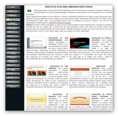 CRD 2000 - Desenvolvimento de Peças para Campanhas Publicitárias (foto do meio da página)  http://crd2000.com.br/apresentacao-4.html